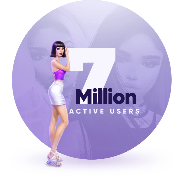 7million active users